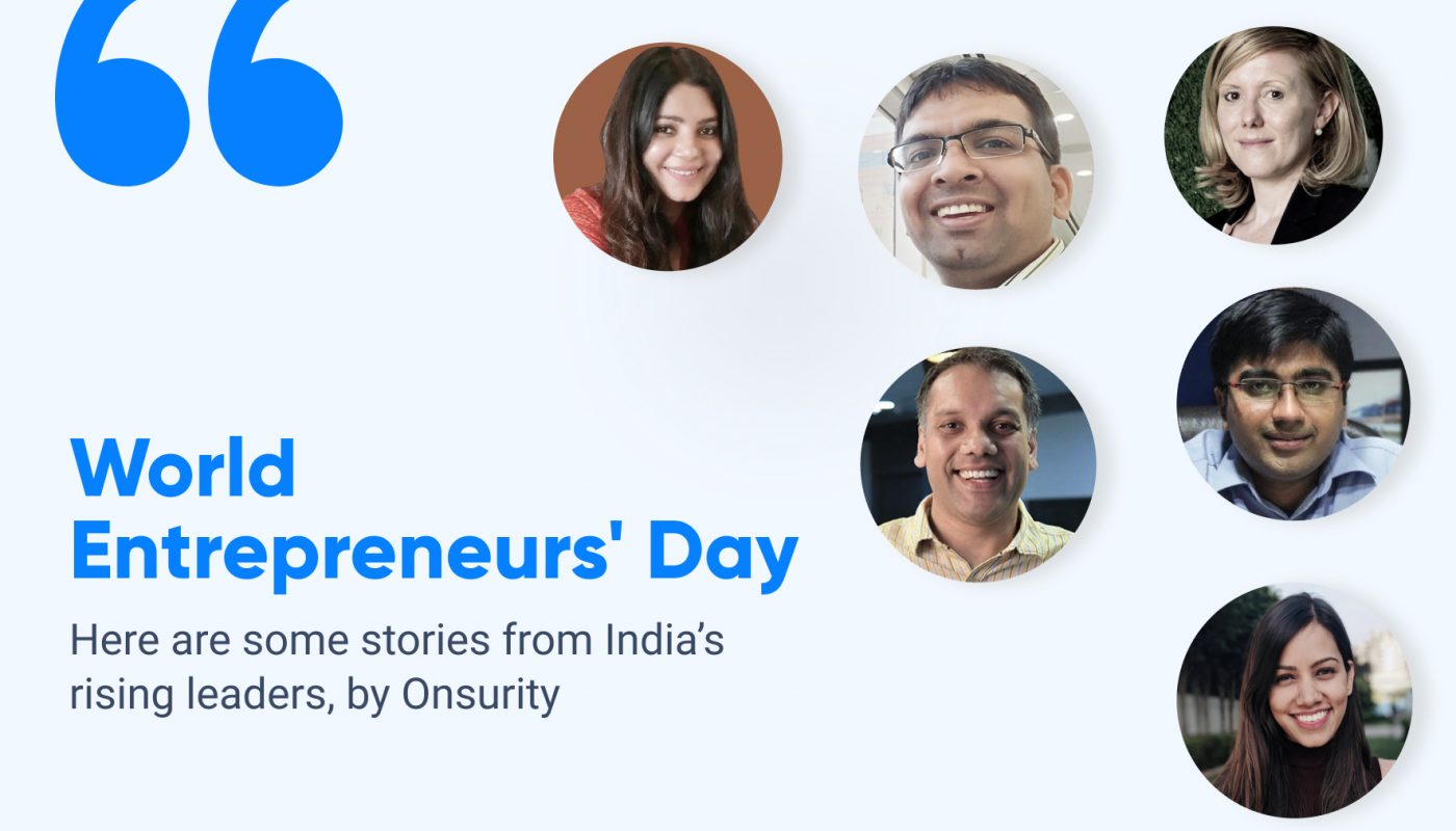 entrepreneurs day with onsurity