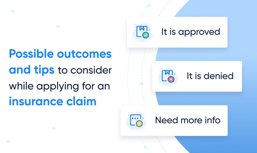 How to ace an Insurance claim process without worrying about the possible outcomes