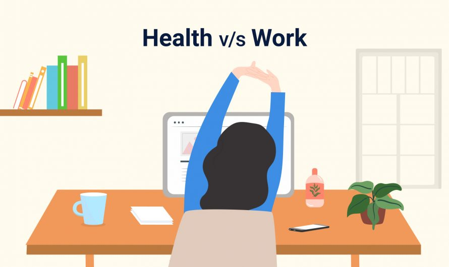 How do you redefine your health with the new work from home model?