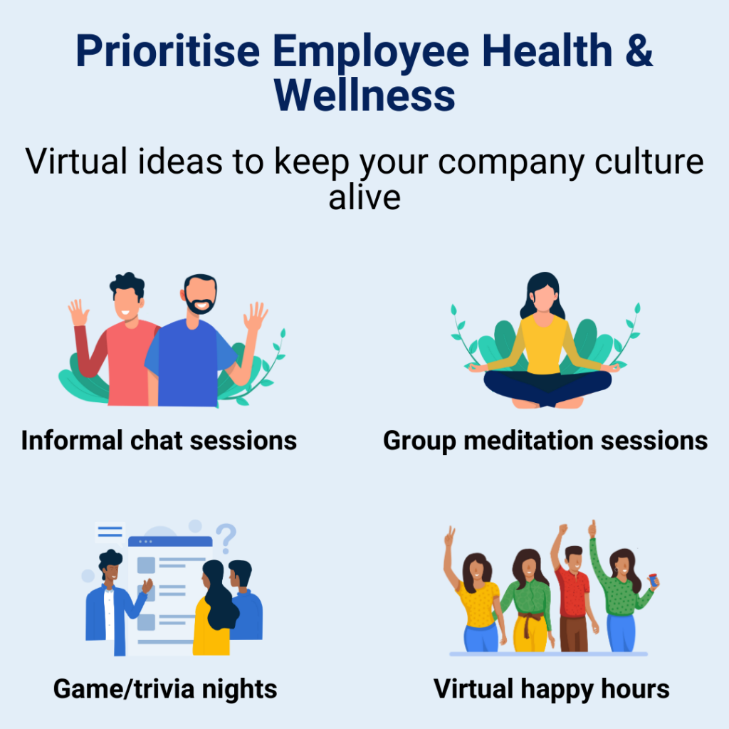 Company culture with employee wellness