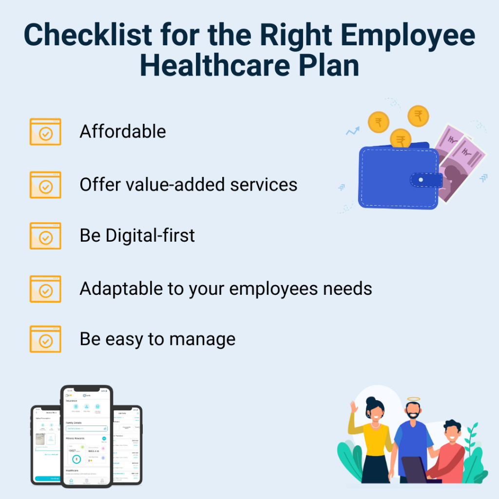 group healthcare plan for small businesses checklist
