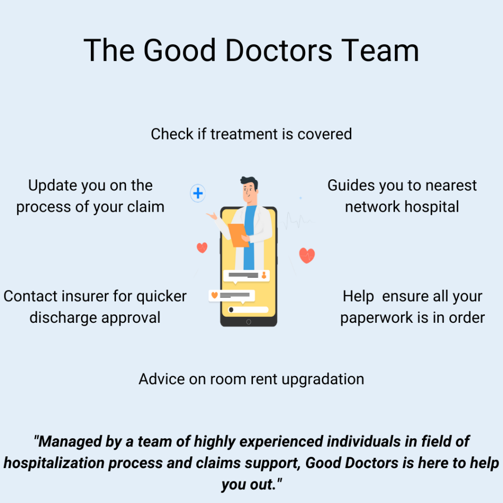 Good Doctors Team can help with