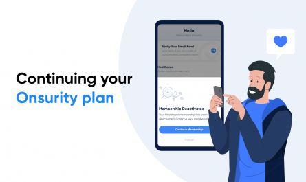 Keep your healthcare benefits with Onsurity banner