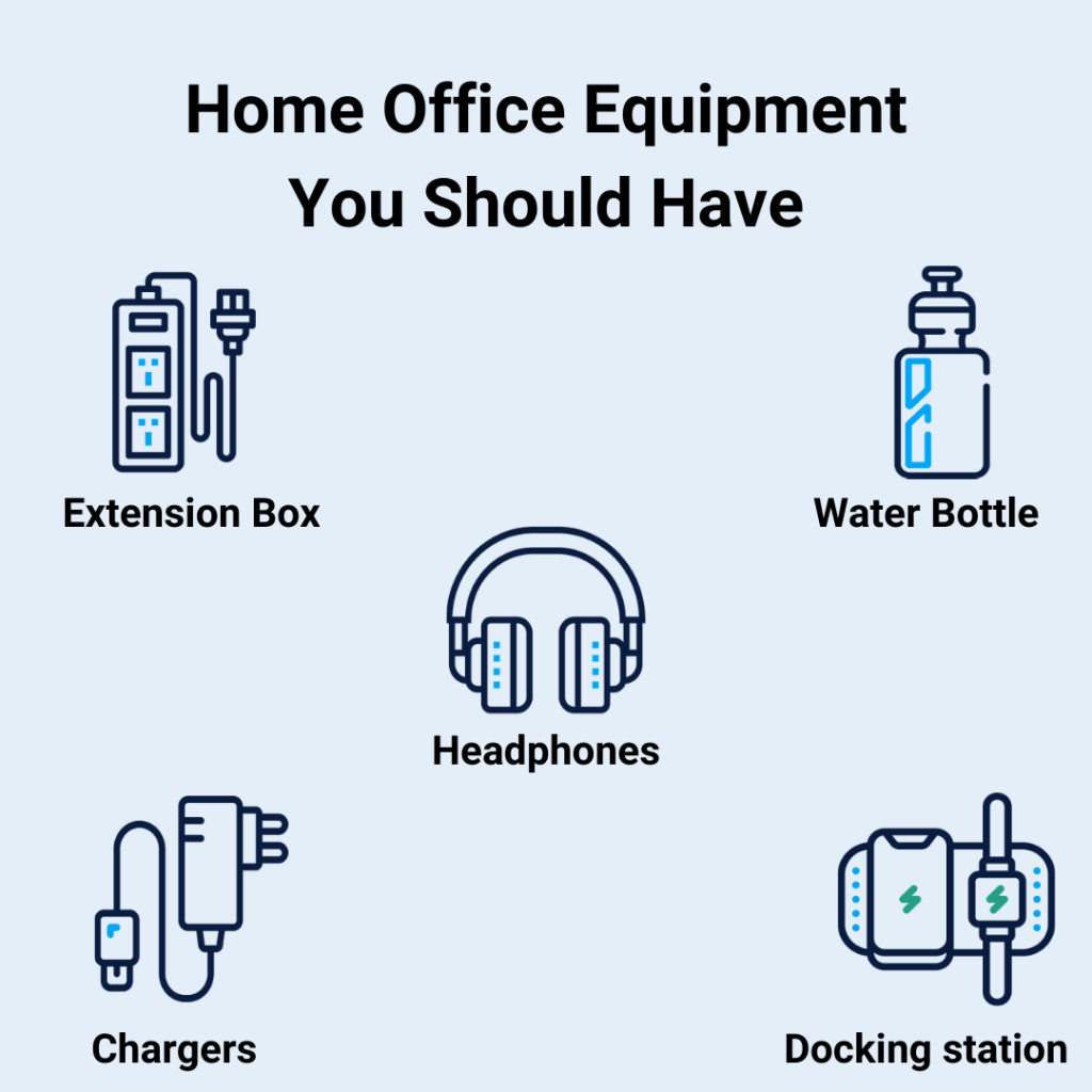 Ideal home office equipment