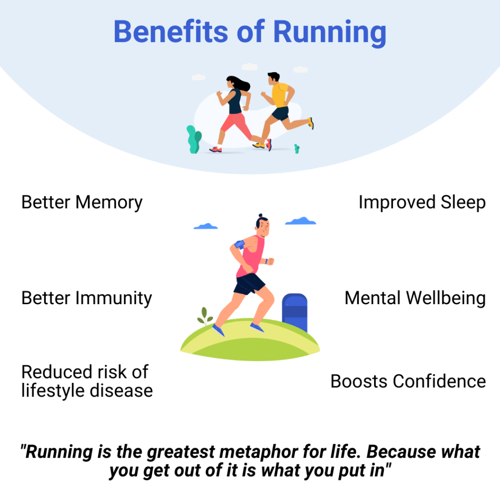 benefits of running in the morning