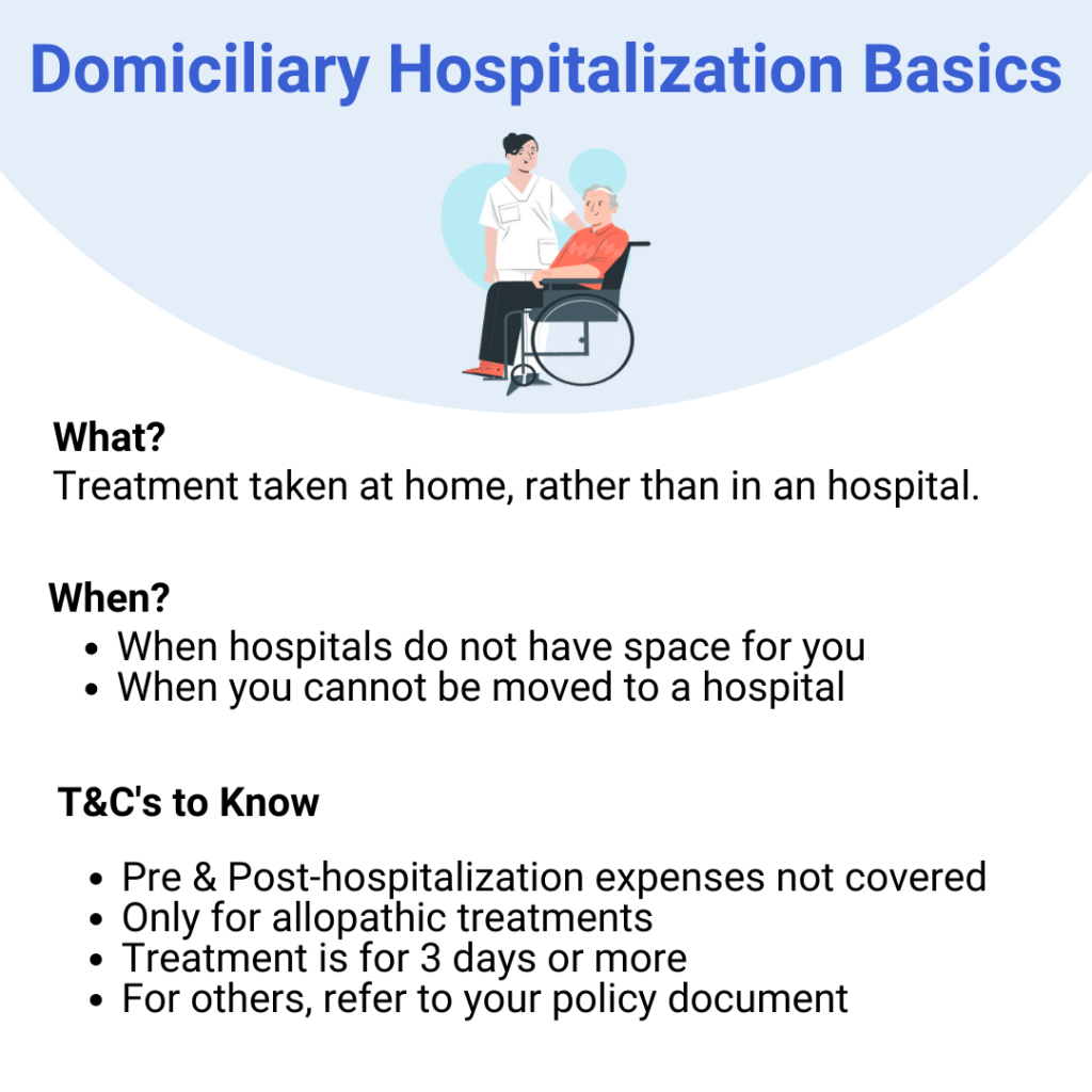 what is Domiciliary hospitalization