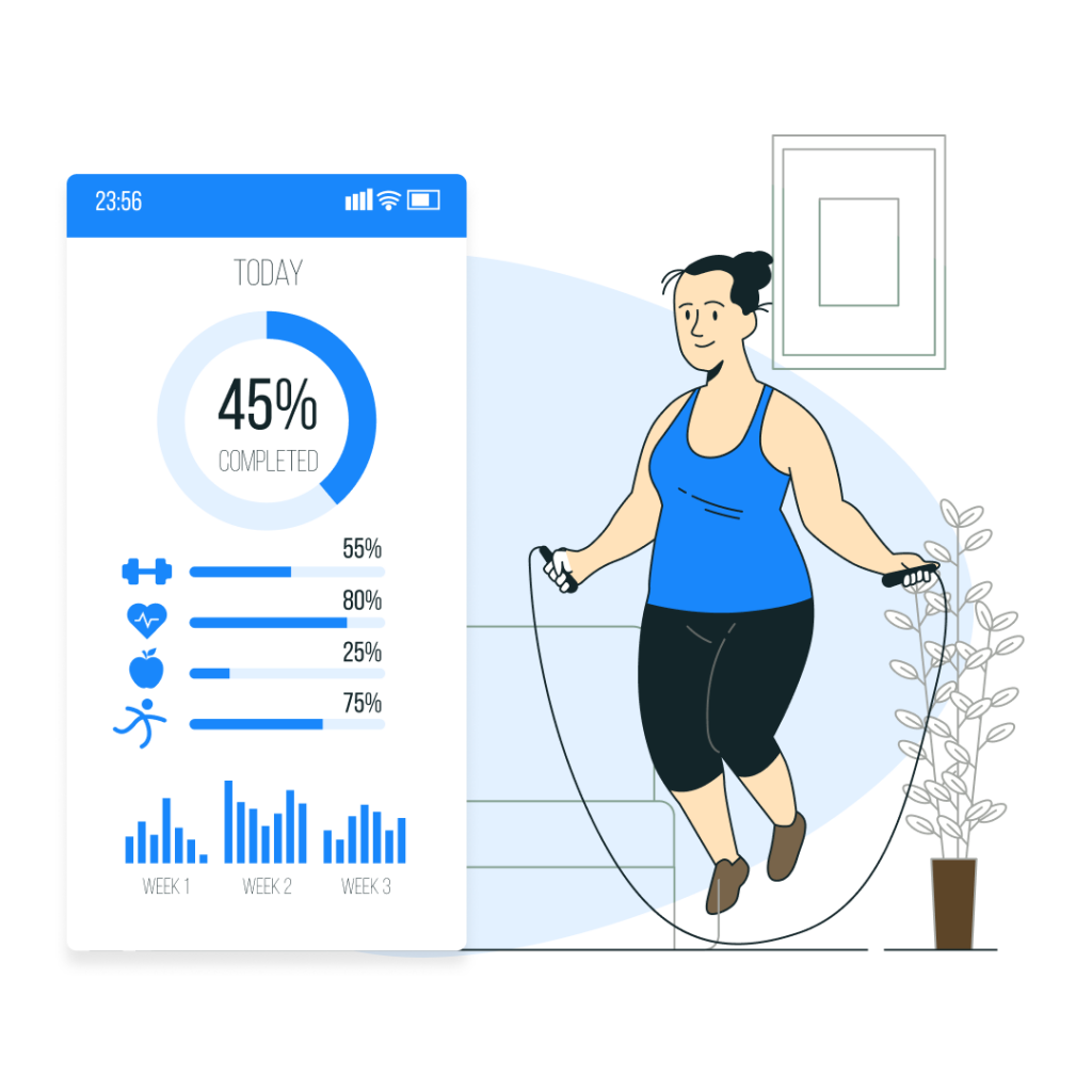 Check out our list of best fitness apps