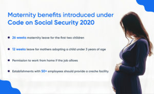 maternity benefits in India